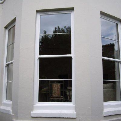 3 Metre PVC Sliding Sash Windows (External View)