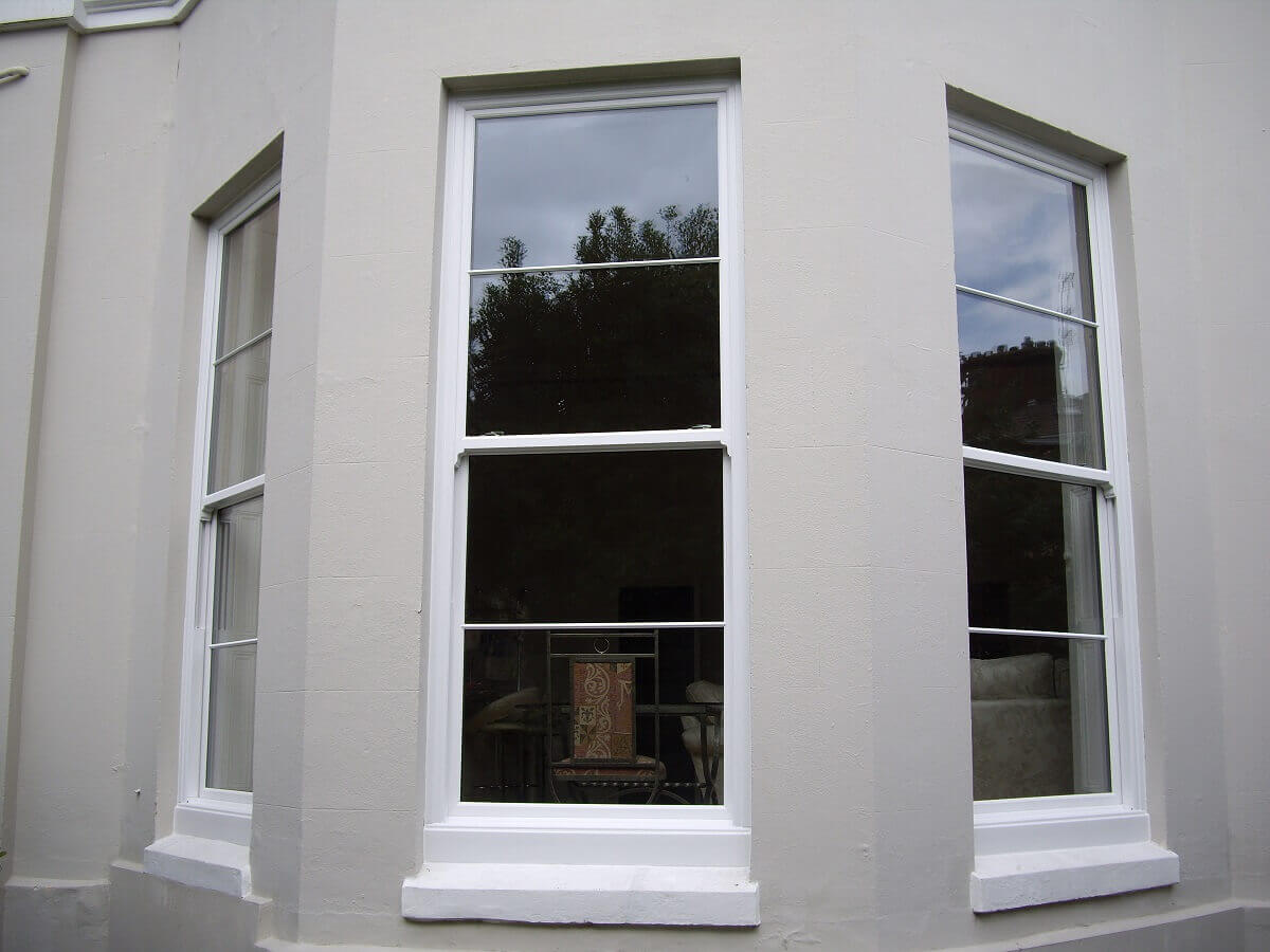 3 Metre PVC Sliding Sash Windows (External View)