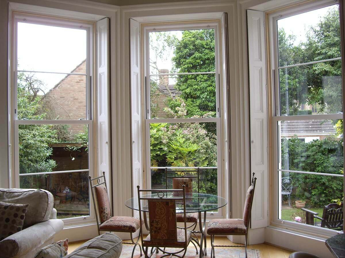 3 Metre PVC Sliding Sash Windows (Internal View)