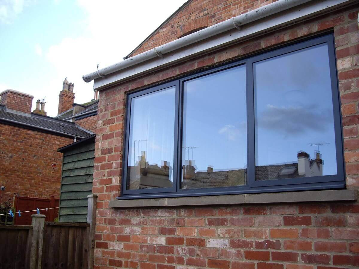 Aluminium Anthracite Grey Window