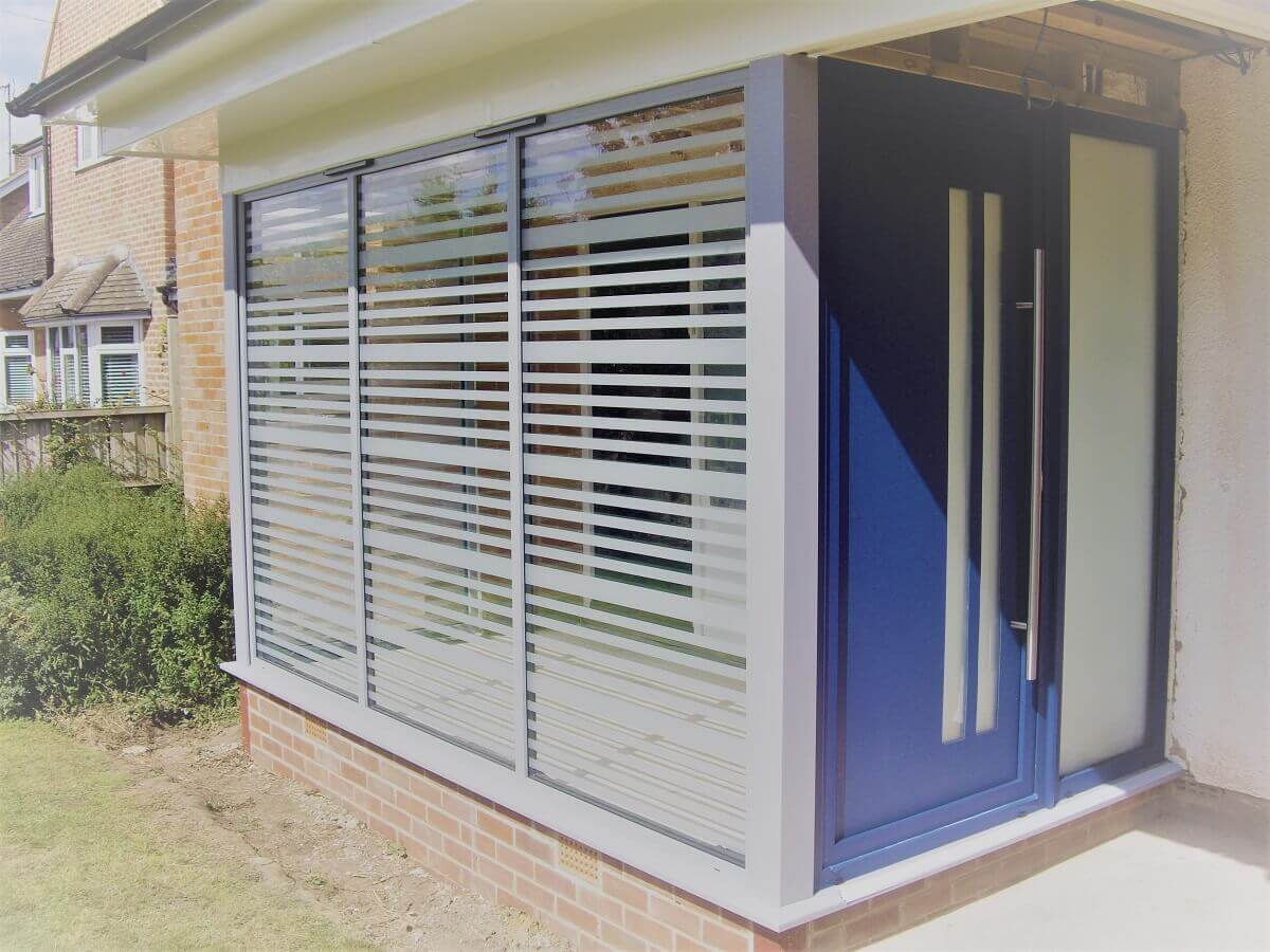 Aluminium Porch & Door