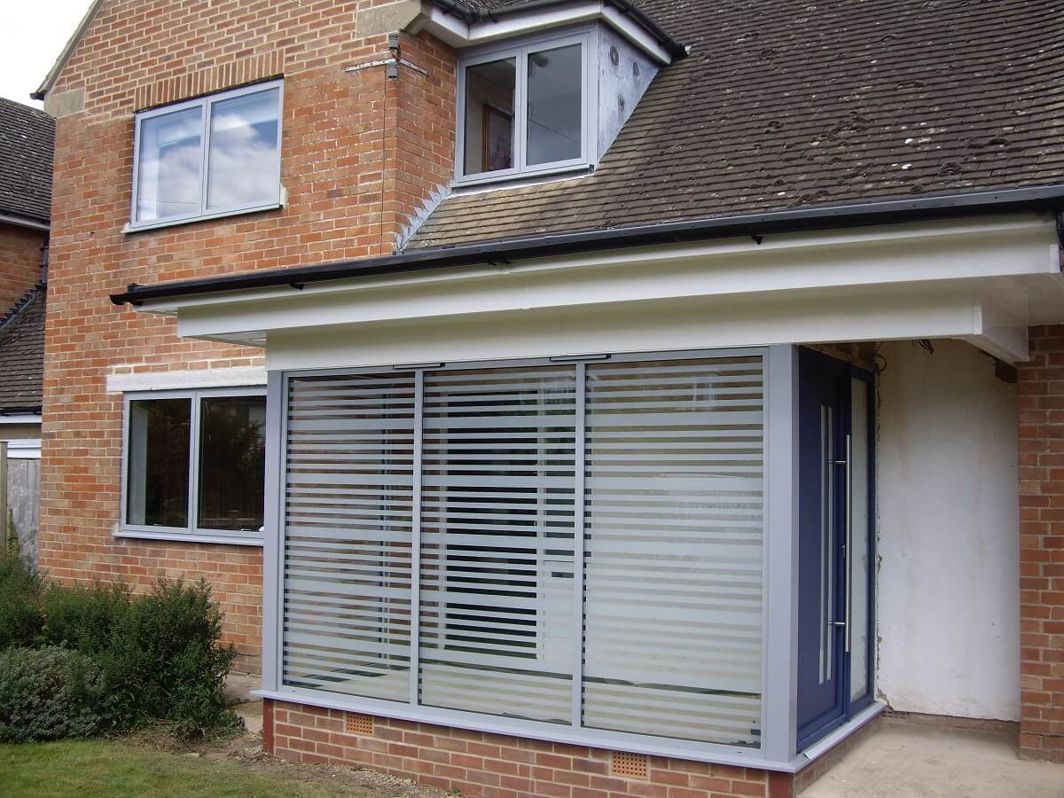 Aluminium Windows, Porch & Door