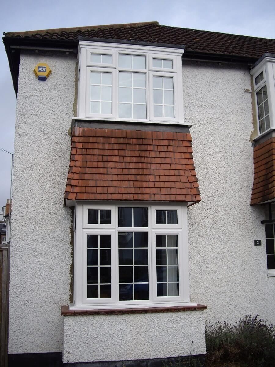 Bay windows with Georgian bars 2