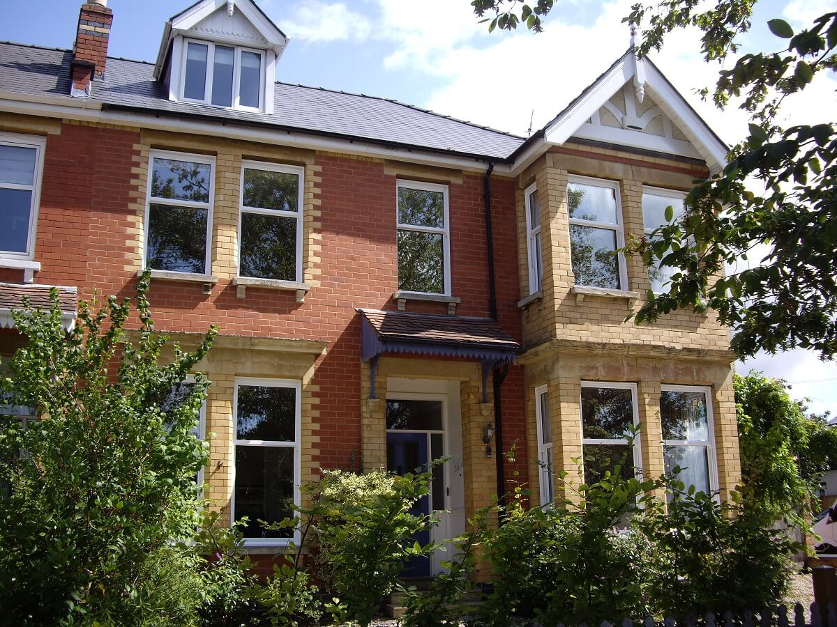 Beautiful sliding sash windows