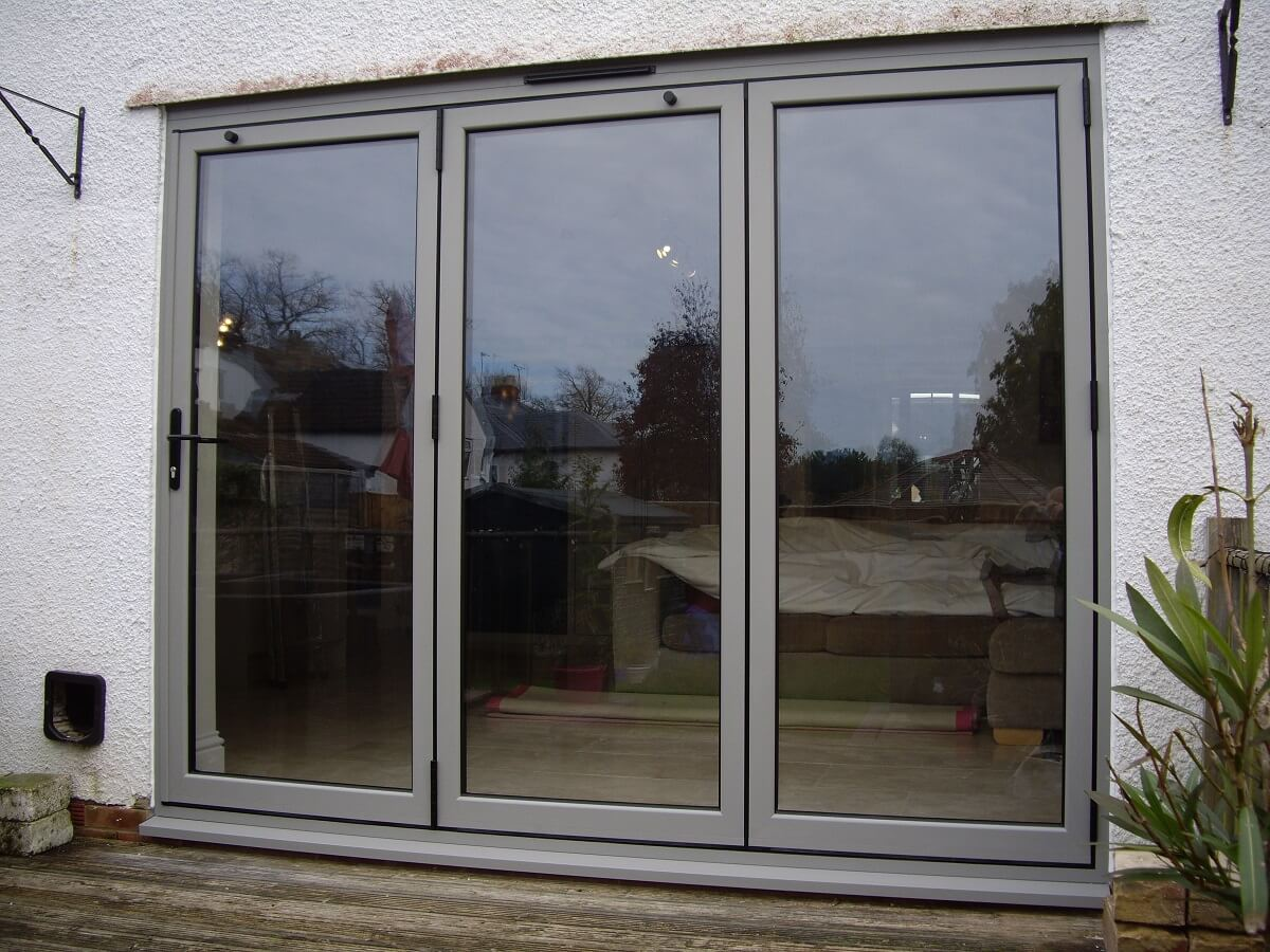 Bespoke RAL colour bi-folds