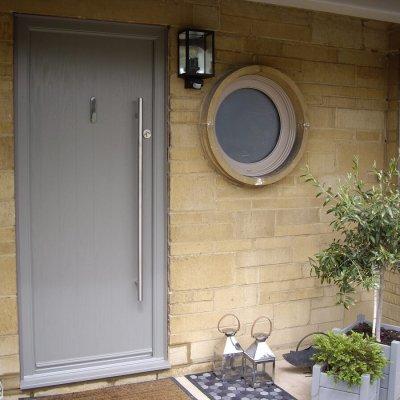Bespoke RAL coloured Apeer door