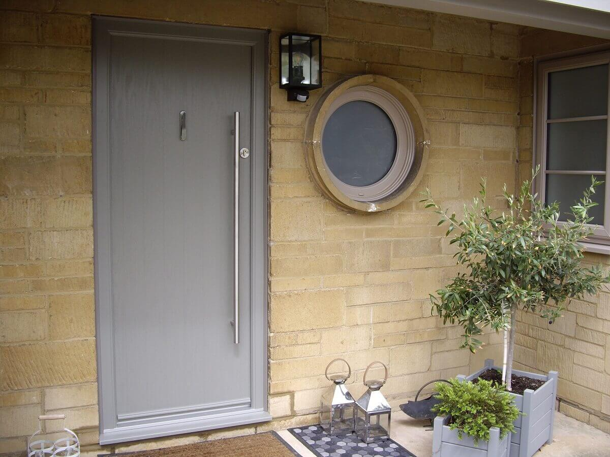 Bespoke RAL coloured Apeer door