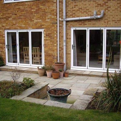 Bi-folding doors to patio