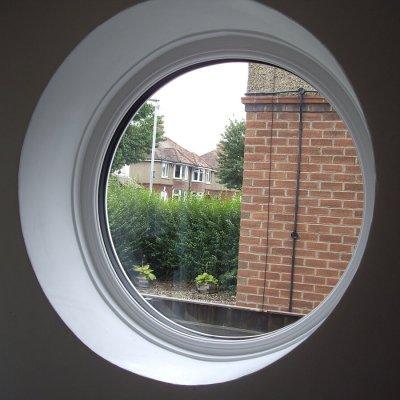 Circular Window Interior