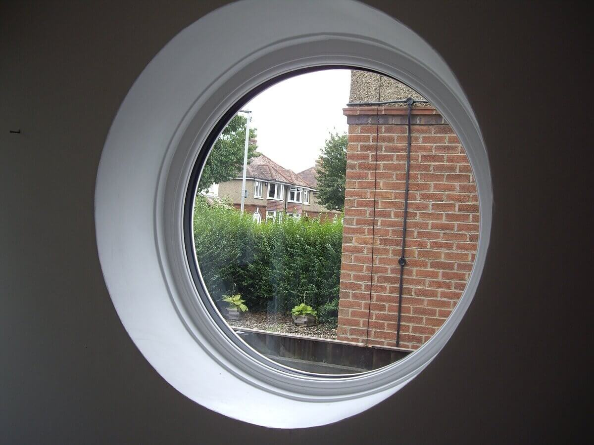Circular Window Interior