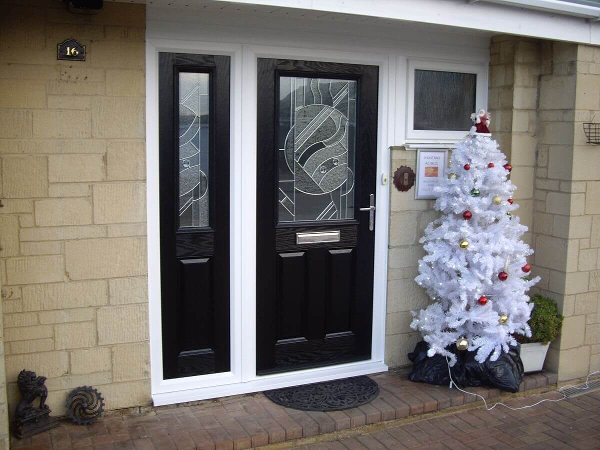 Composite door and side screen