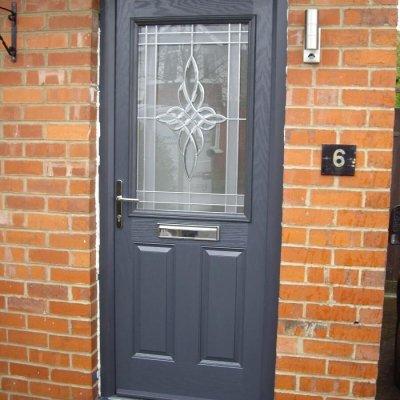 Door Stop 2 Panel 1 Square Door