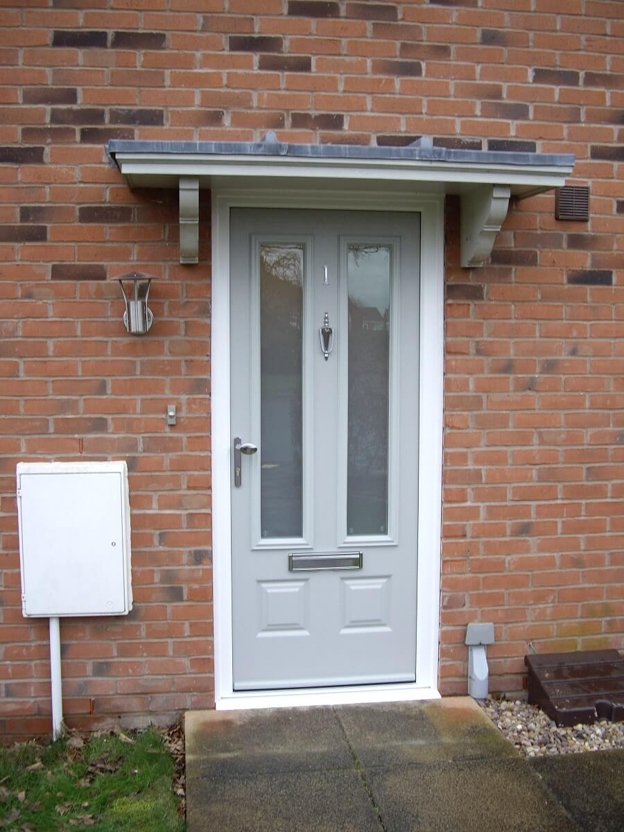 Endurance Pearl Grey Scaffell door