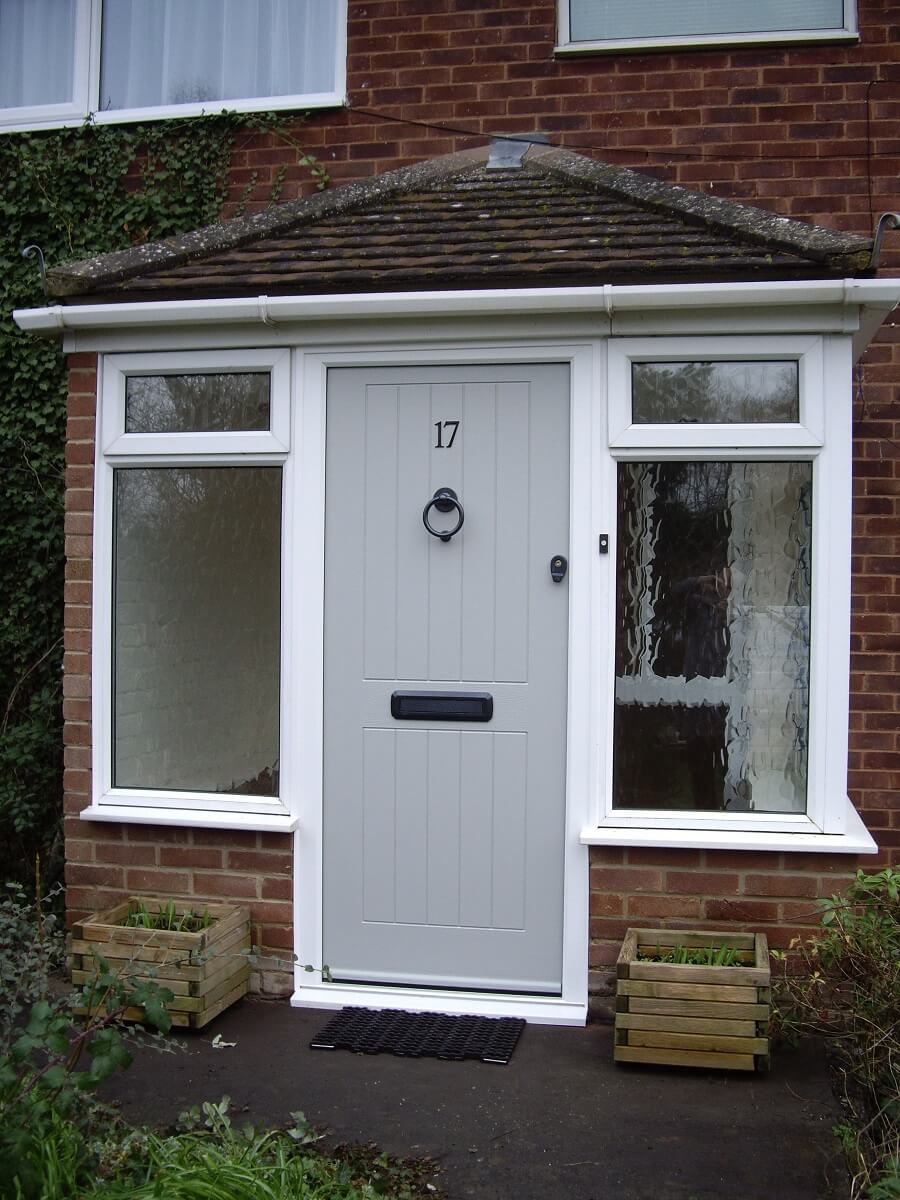 Endurance Pearl Grey Brecon door