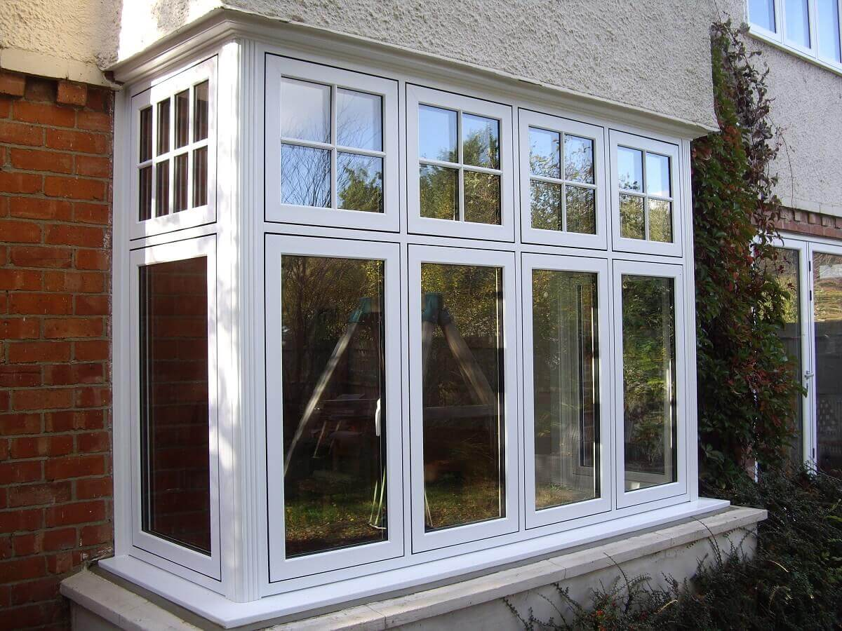 Flush Sash Bay Window