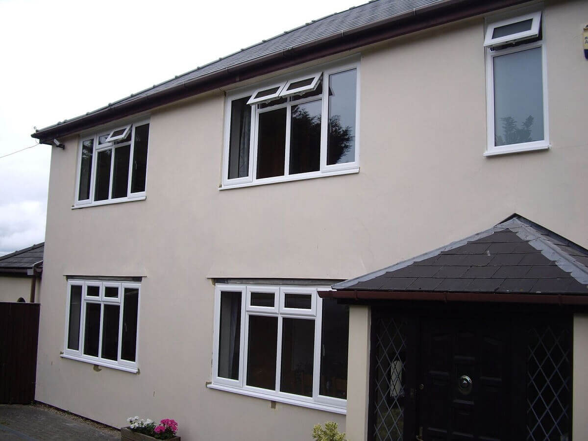 Large casement windows