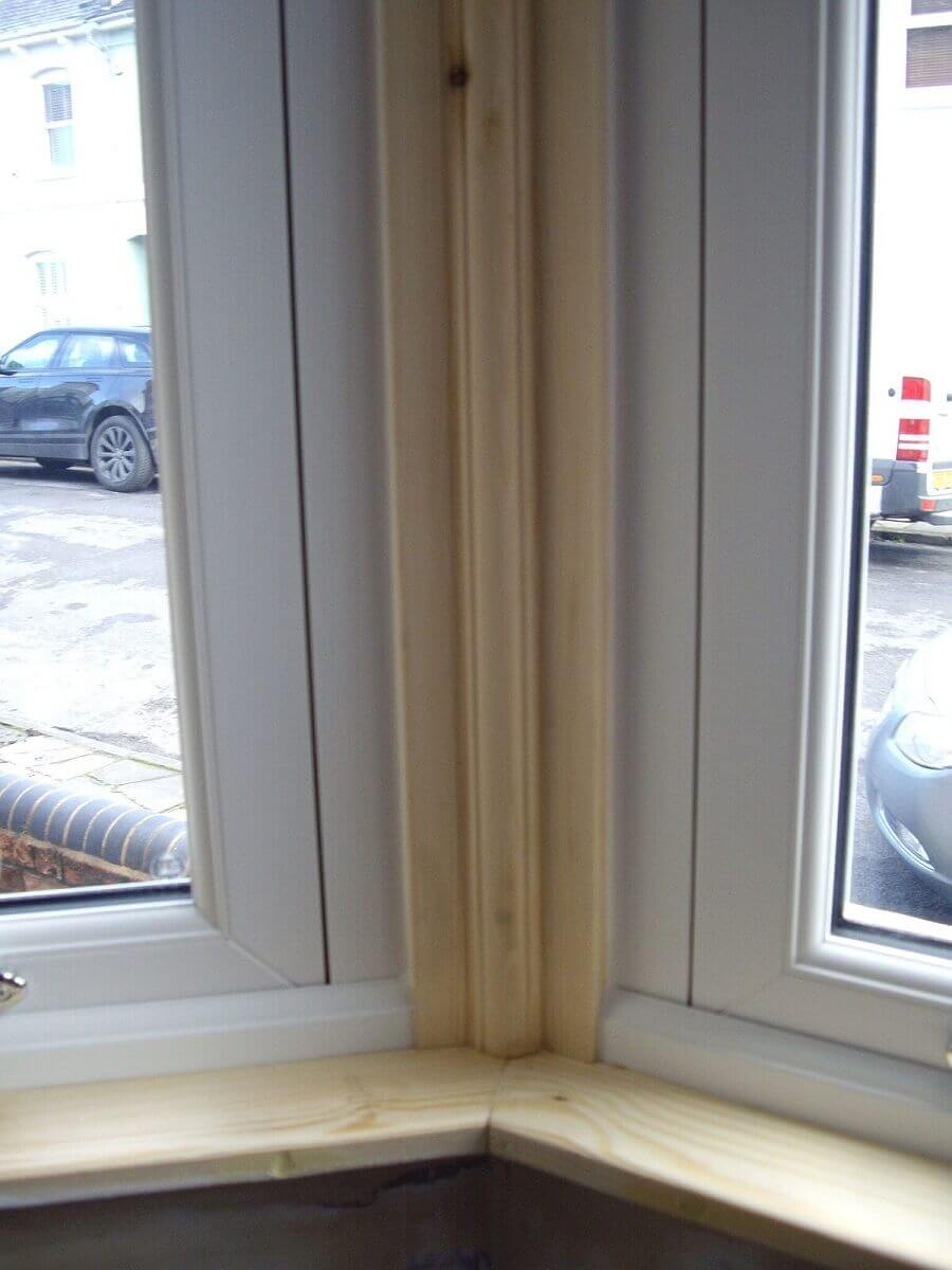 New Timber Surrounding Sliding Sash Windows (Interior)
