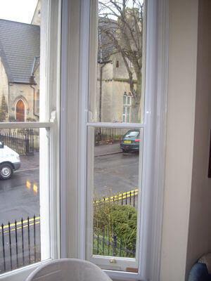 Secondary double glazing