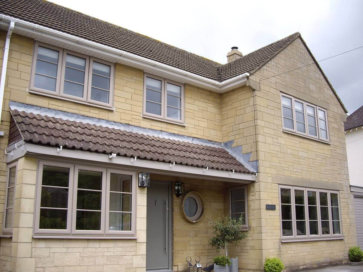 Windsor coloured PVCu windows